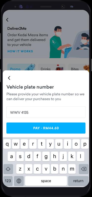 Deliver2me Step 3