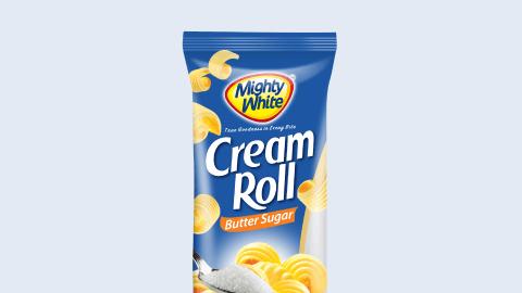 Mighty White Cream Roll Butter Sugar