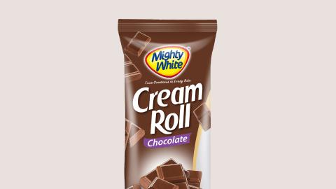 Mighty White Cream Roll Chocolate