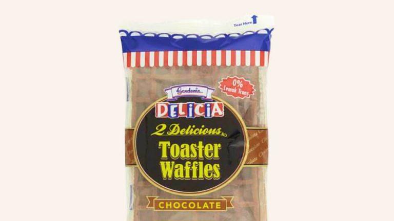 Gardenia Toaster Waffles Choccolate