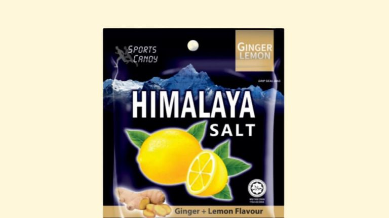 Himalaya Salt Ginger+lemon Flavour