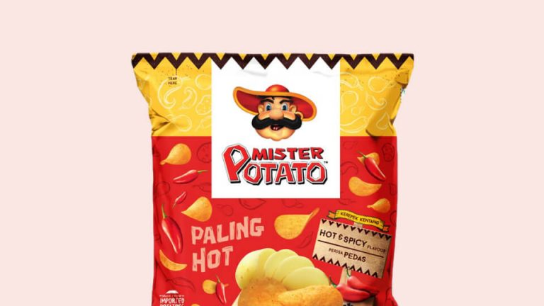 Mister Potato Hot Spicy 75g