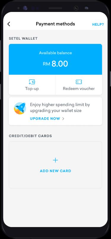 Cash Topup Step 2