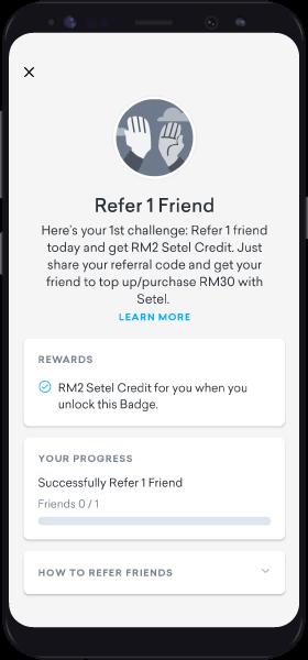 Screen Raf Challenge Details
