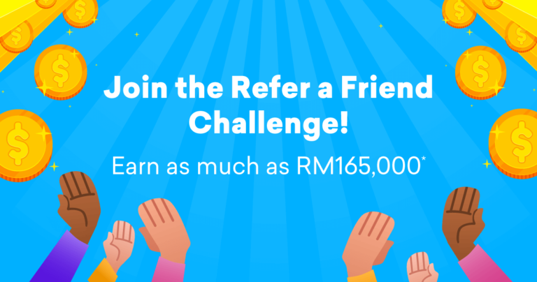Promotion image of 'Refer a friend Challenge'